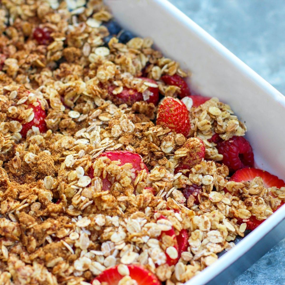 Healthy breakfast choice