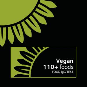 Food intolerance test for vegans