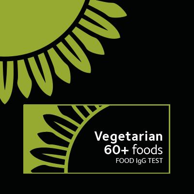 Food intolerance test for vegetarians