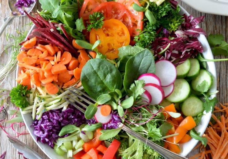 Healthy Immune boosting Salad