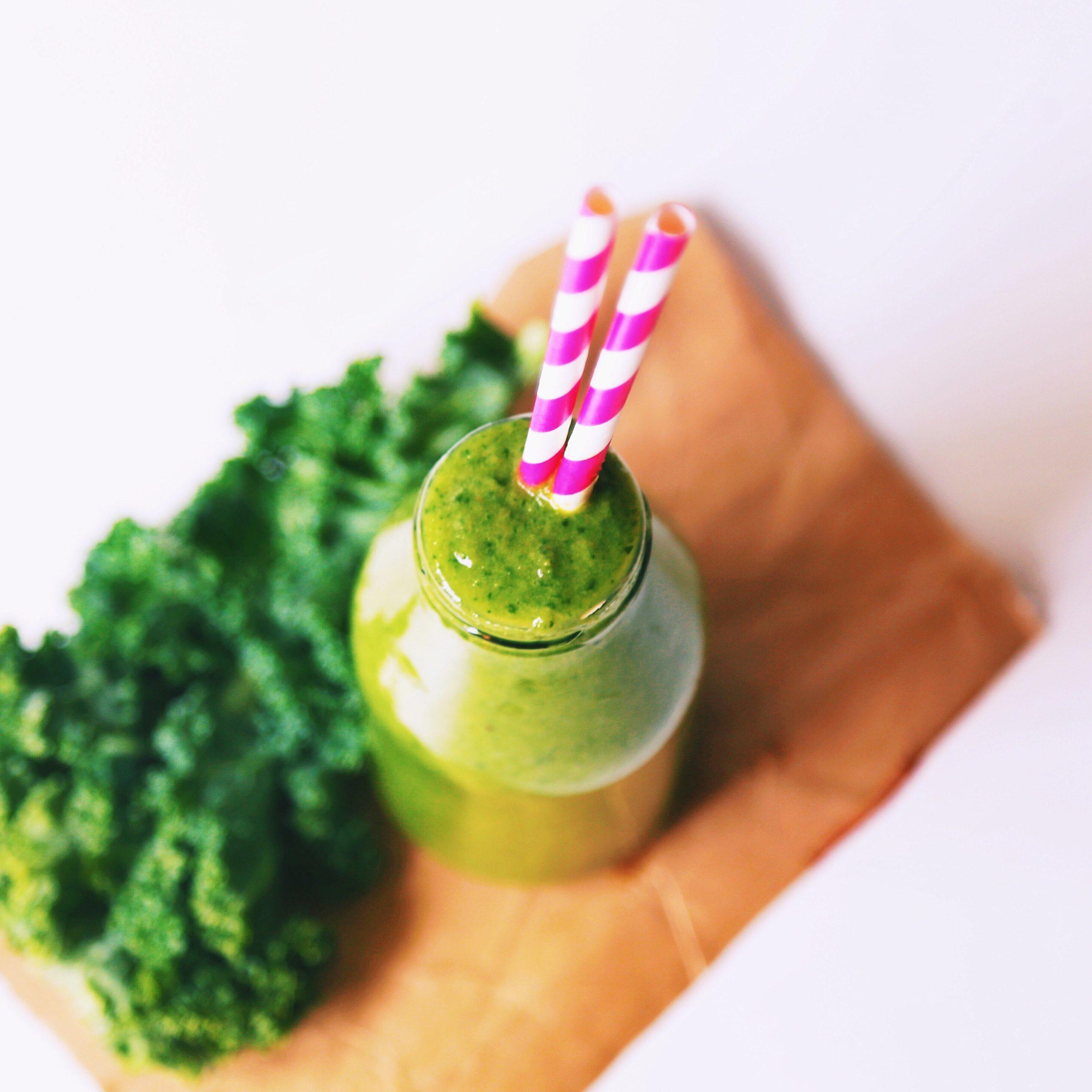 Green kale smoothie recipe